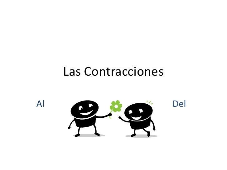 Las Contracciones<br />AlDel<br />