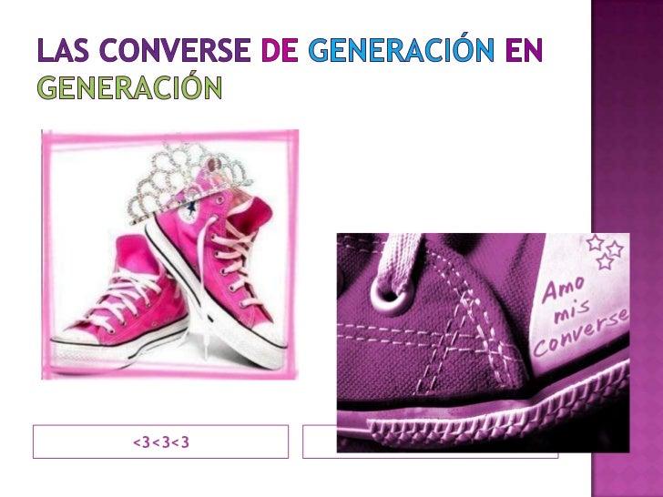 Las converse degeneraciónengeneración<br /><3<3<3<br />