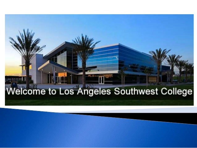 """In honor of its founding history, Los Angeles Southwest College provides a student-centered learning environment committe..."