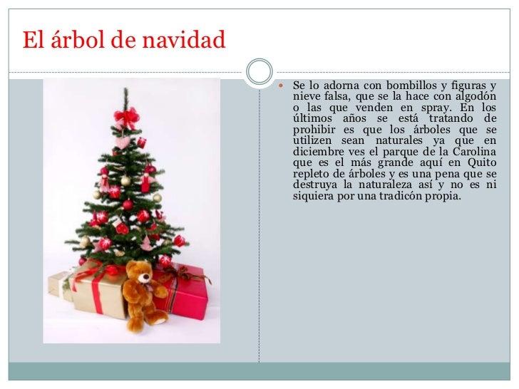 Las costumbres de navidad en el ecuador Slide 3