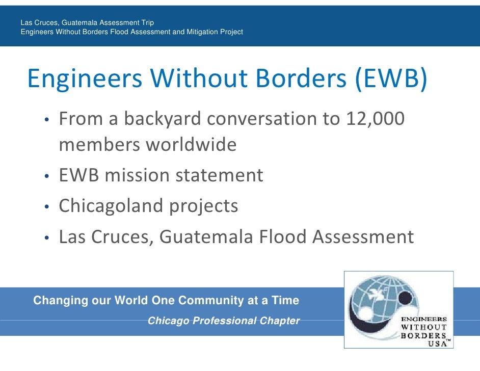 Engineers Without Borders Las Cruces, Guatemala Flood Assessment Trip Slide 2