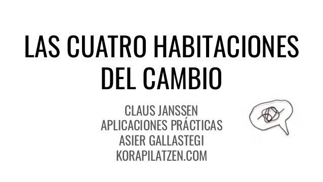 LAS CUATRO HABITACIONES DEL CAMBIO CLAUS JANSSEN APLICACIONES PRÁCTICAS ASIER GALLASTEGI KORAPILATZEN.COM