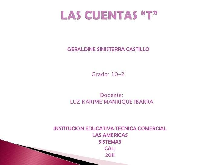 GERALDINE SINISTERRA CASTILLO             Grado: 10-2              Docente:     LUZ KARIME MANRIQUE IBARRAINSTITUCION EDUC...
