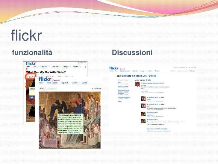 flickrfunzionalità   Discussioni
