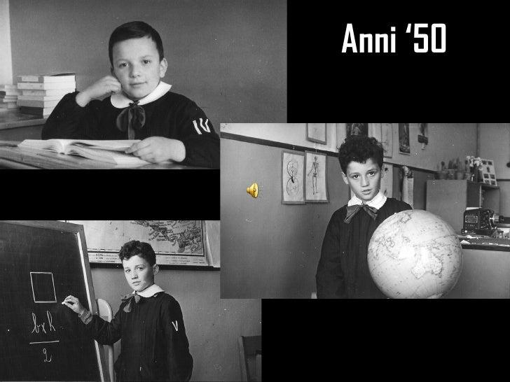 La scuola ieri e oggi - Case anni 50 ...