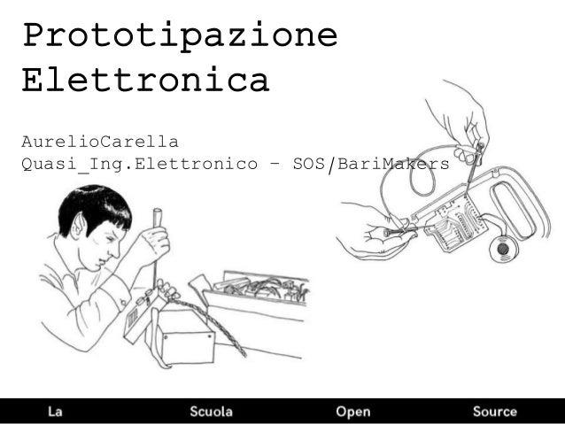 Prototipazione Elettronica AurelioCarella Quasi_Ing.Elettronico – SOS/BariMakers