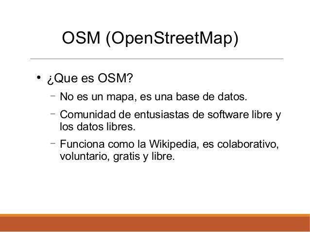 PyDayAsunción 2015 - Lightning Talks - OSM Paraguay Slide 2