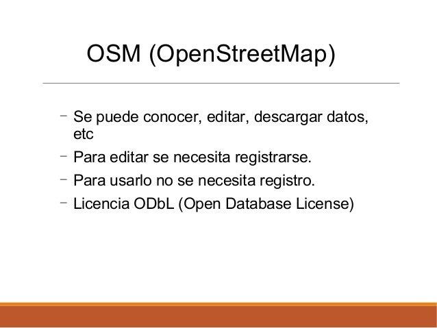 PyDayAsunción 2015 - Lightning Talks - OSM Paraguay Slide 3