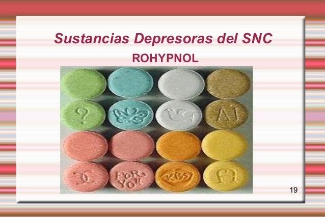 Sustancias Depresoras del SNC          ROHYPNOL                                19