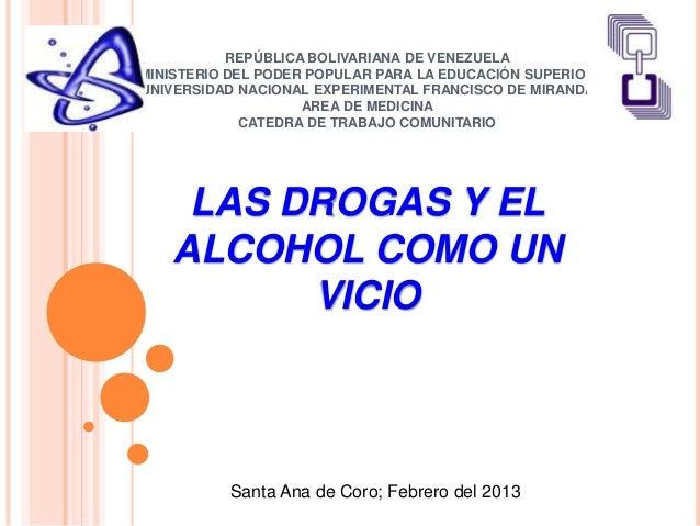 Las drogas y el alcohol como vicio - Usos del alcohol ...