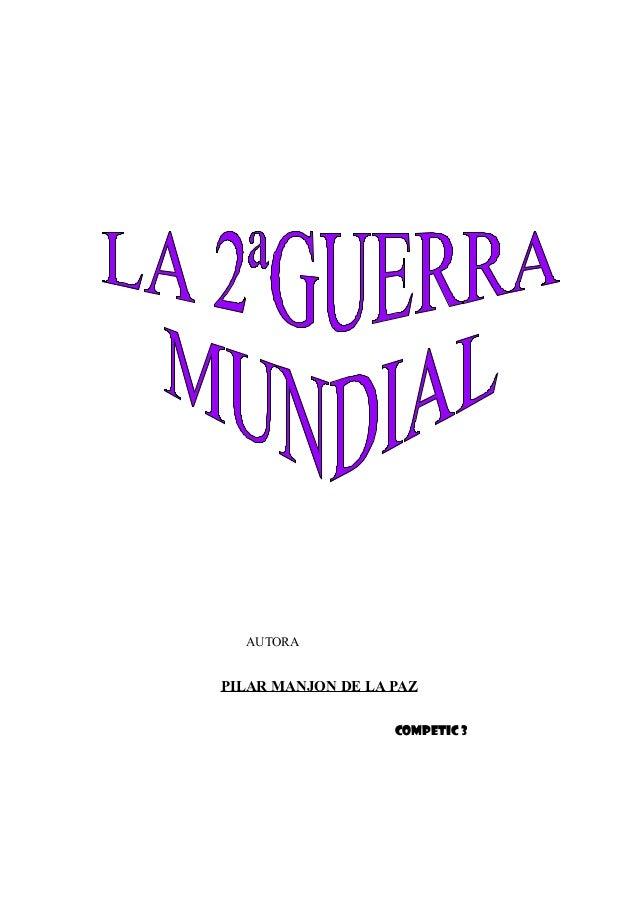 AUTORA PILAR MANJON DE LA PAZ COMPETIC 3