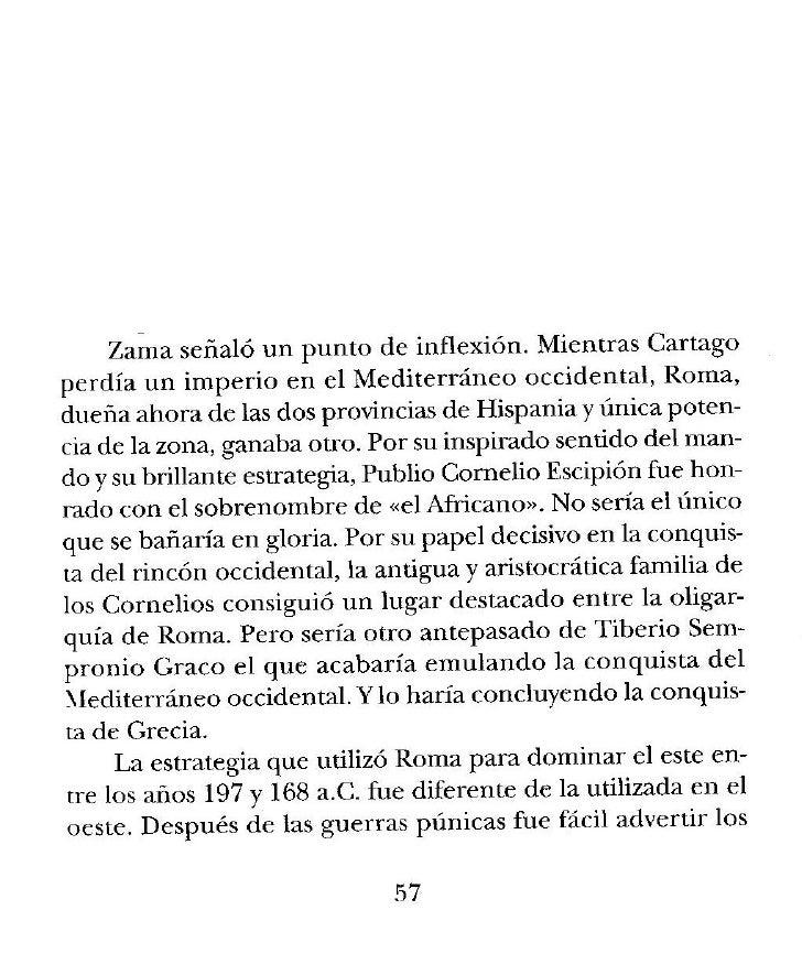 La Segunda Guerra Punica Y La Conquista De Grecia