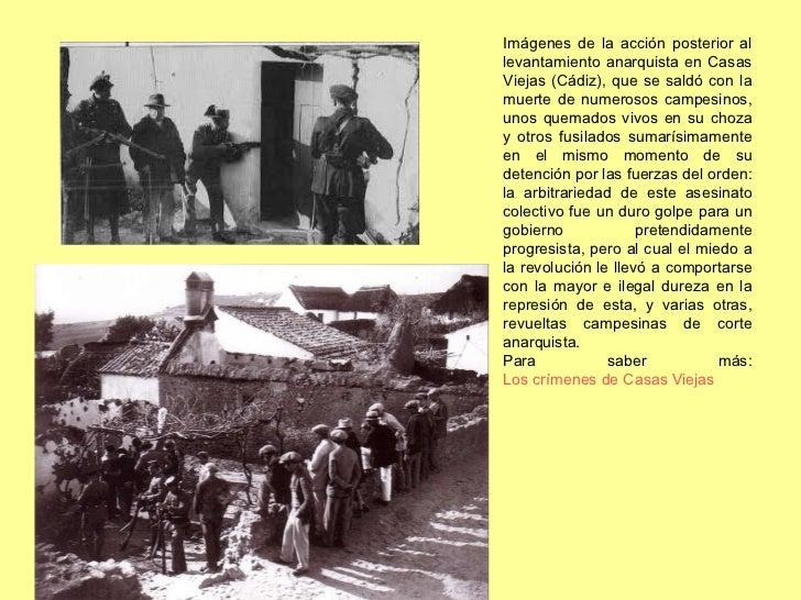 Imágenes de la acción posterior al levantamiento anarquista en Casas Viejas (Cádiz), que se saldó con la muerte de numeros...