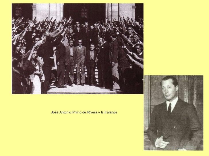 José Antonio Primo de Rivera y la Falange
