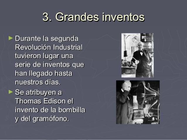 6 inventos de la primera revolucion industrial