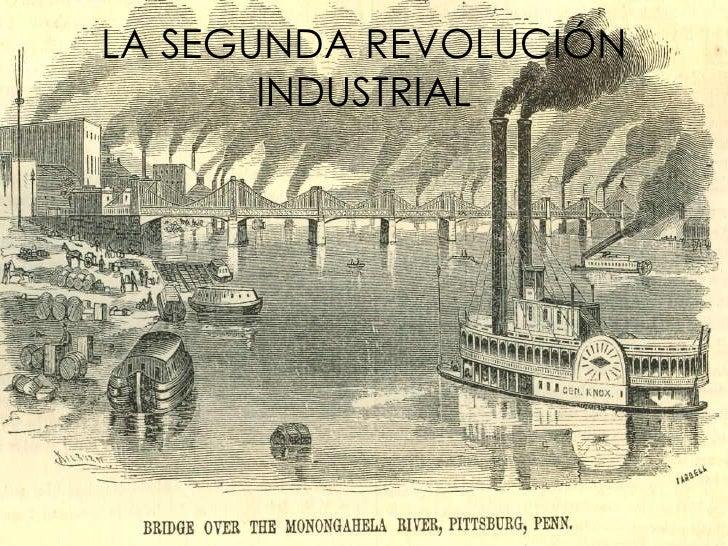 Resultado de imagen de segunda revolución industrial