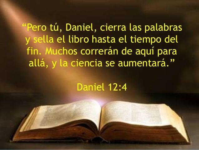 Resultado de imagen para DANIEL 12:4