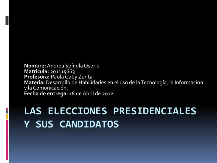 Nombre: Andrea Spínola OsorioMatricula: 201115663Profesora: Paola Gaby ZuritaMateria: Desarrollo de Habilidades en el uso ...