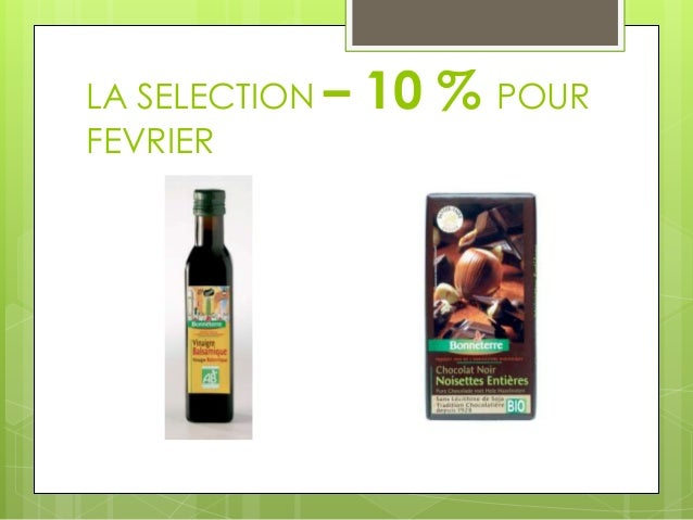 LA SELECTION –   10 % POURFEVRIER