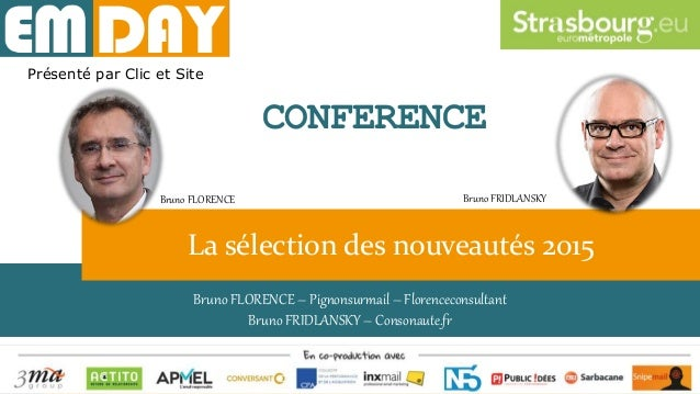 Perso dynamique – P. Bornstein - RealTime Email Bruno FLORENCE – Pignonsurmail – Florenceconsultant Bruno FRIDLANSKY – Con...
