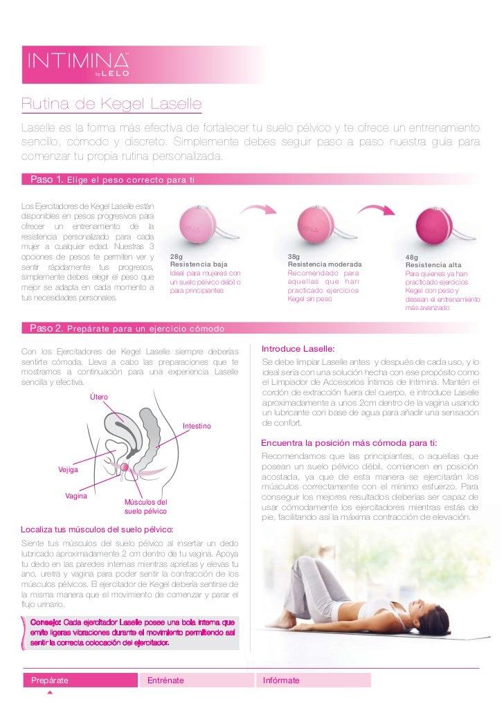 Rutina de Kegel LaselleLaselle es la forma más efectiva de fortalecer tu suelo pélvico y te ofrece un entrenamientosencill...