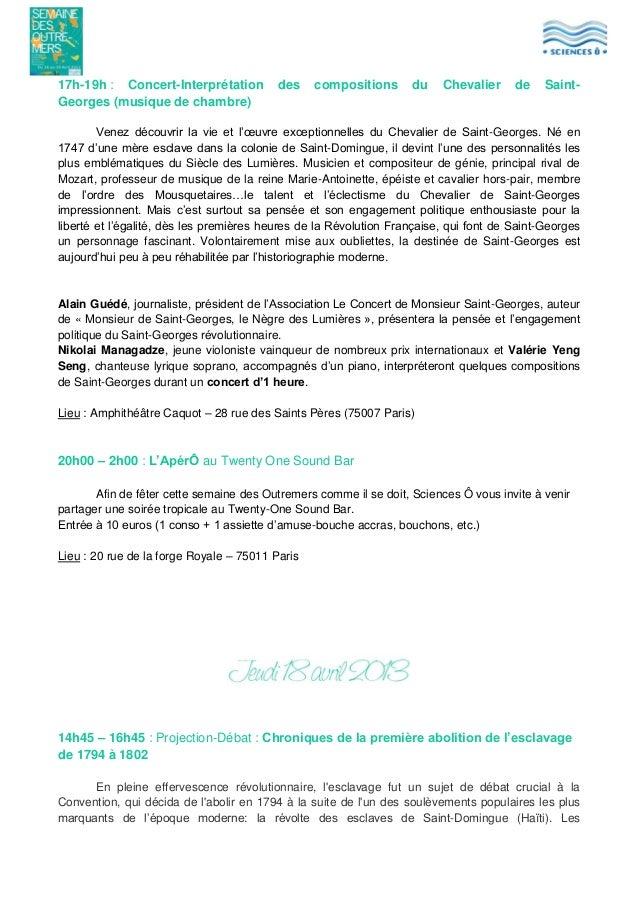 17h-19h : Concert-Interprétation Georges (musique de chambre)  des  compositions  du  Chevalier  de  Saint-  Venez découvr...