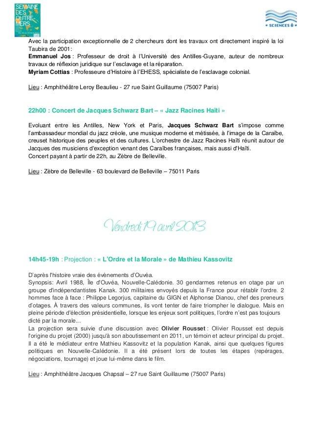 Avec la participation exceptionnelle de 2 chercheurs dont les travaux ont directement inspiré la loi Taubira de 2001: Emma...