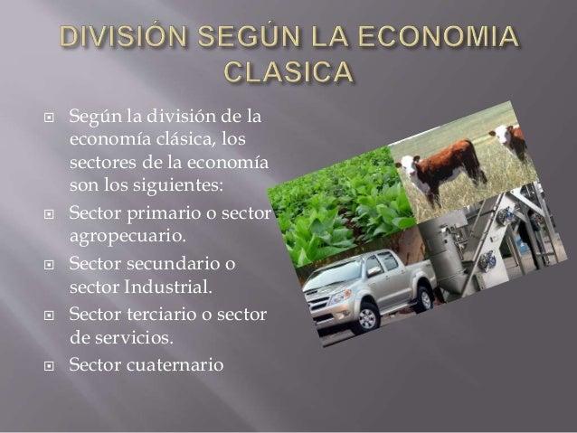 Las empresas según el sector económico Slide 3