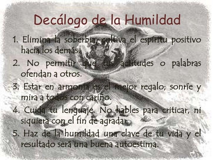La Sencillez Y La Humildad