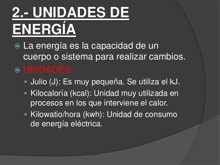 Las energías Slide 3