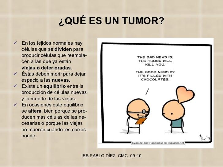 ¿QUÉ ES UN TUMOR? <ul><li>En los tejidos normales hay  </li></ul><ul><li>células que se  dividen  para </li></ul><ul><li>p...
