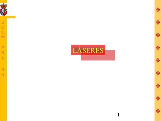 LÁSERES  LÁSERES            1