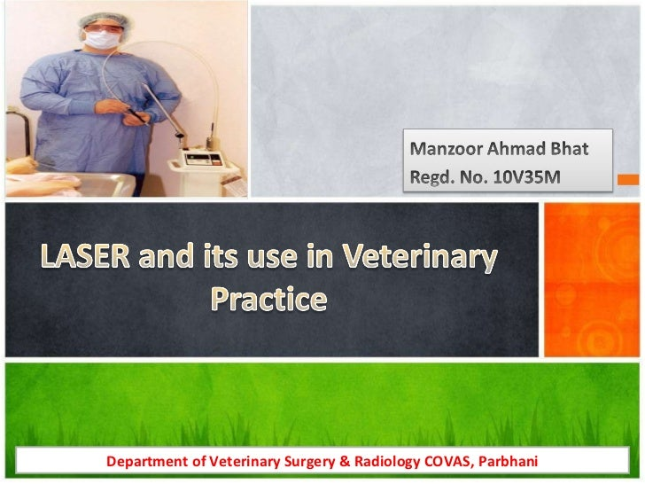 Department of Veterinary Surgery & Radiology COVAS, Parbhani