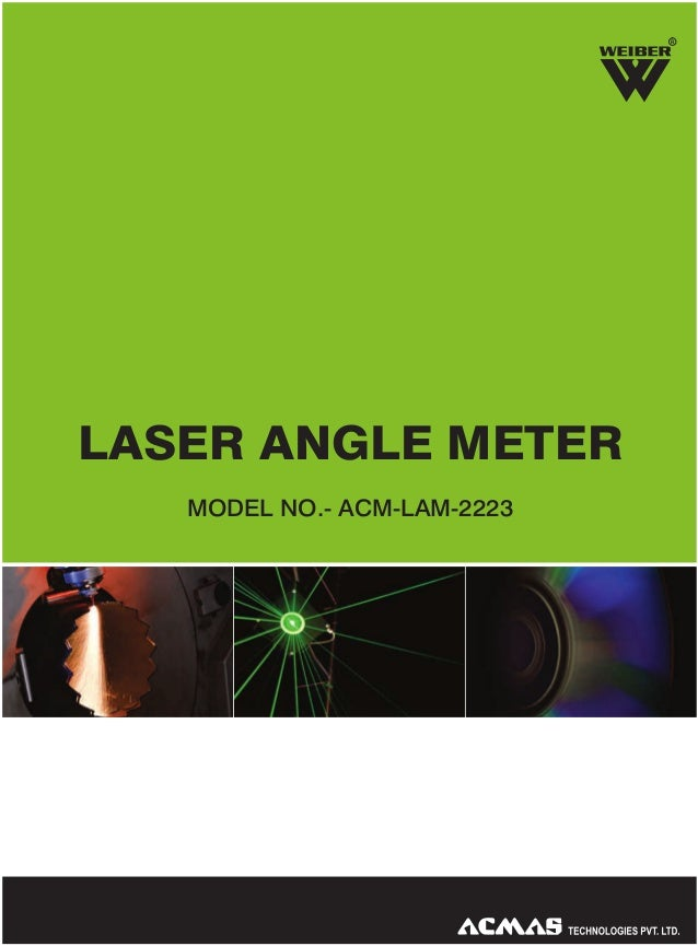 R  LASER ANGLE METER MODEL NO.- ACM-LAM-2223