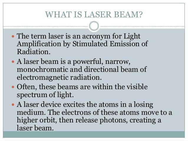 Laser beam welding Slide 2