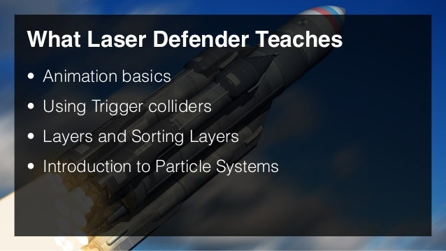 Laser Defender Game in Unity3D