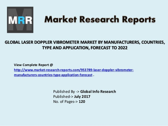 2017-2022 Global Laser Doppler vibrometer (LDV) Market