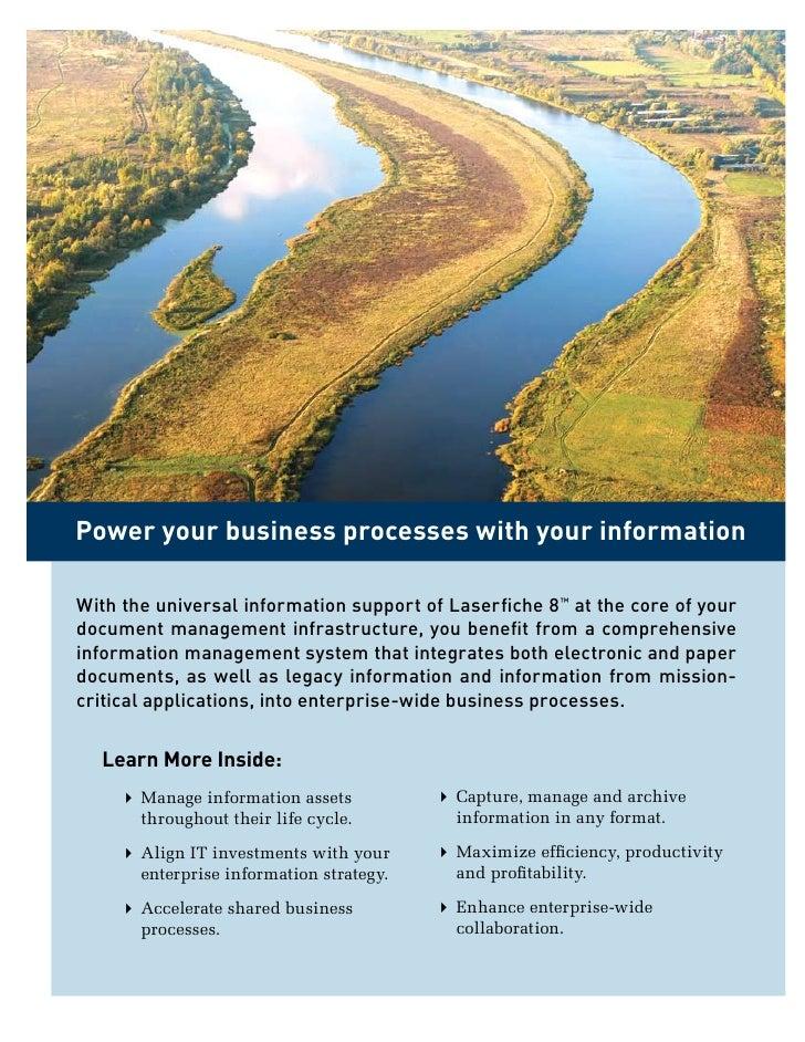 Laserfiche document management solutions Slide 2
