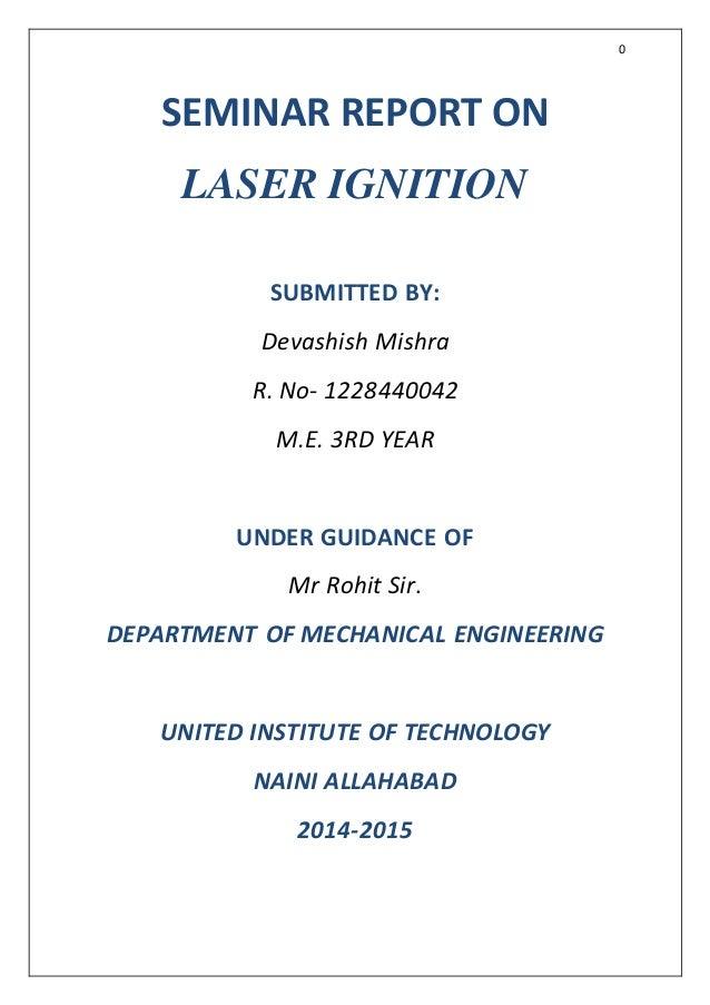 laser ignition system ppt  for windows