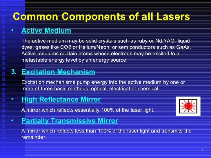 Changing the Color of Your Laser