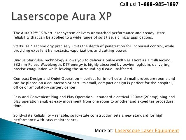 Preowned And New Laserscope Laser Equipments For Sale