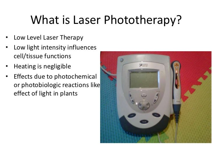 Laser Therapy Presentation Dr Clark
