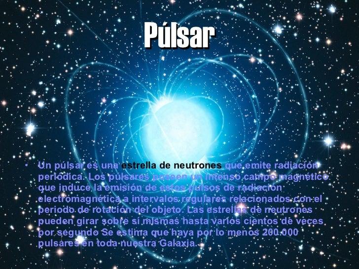 Resultado de imagen de púlsar estrella
