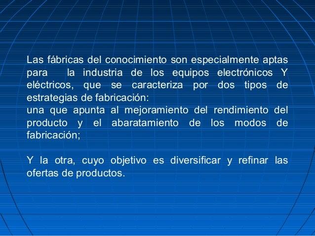 Las fabricas del conocimiento50 for Ofertas de empleo en fabricas