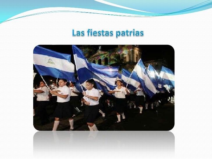 Las fiestas patrias <br />
