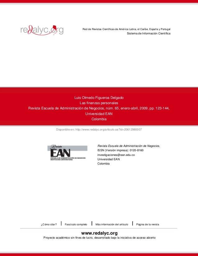 Disponible en: http://www.redalyc.org/articulo.oa?id=20612980007Red de Revistas Científicas de América Latina, el Caribe, ...