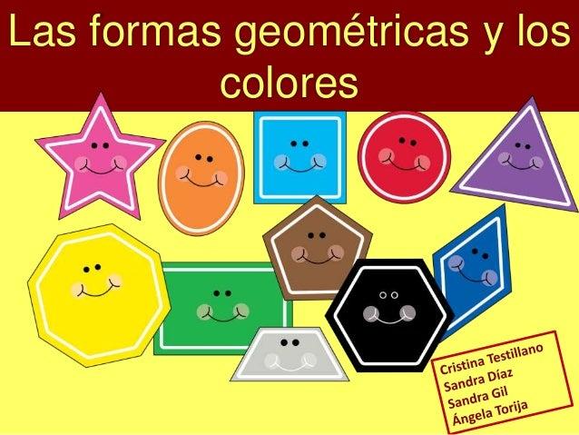 Las formas geométricas y los colores