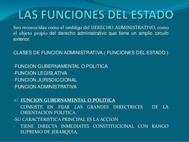 Las funciones del estado for Cuales son las caracteristicas de un mural