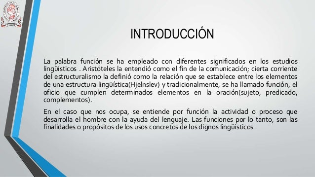 Las funciones semánticas del signo lingüístico según buhlers Slide 2