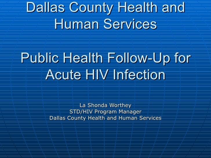 Dallas County Health and  Human Dallas County Health and Human Services Dallas County Health and Human Services Public Hea...